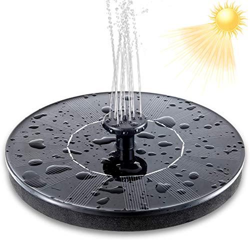 UTOPB Bomba de Fuente Solar Mejorada, Kit de Bomba de Fuente de...