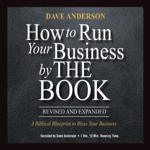 How to Run Your Business by The Book audiobook cover art