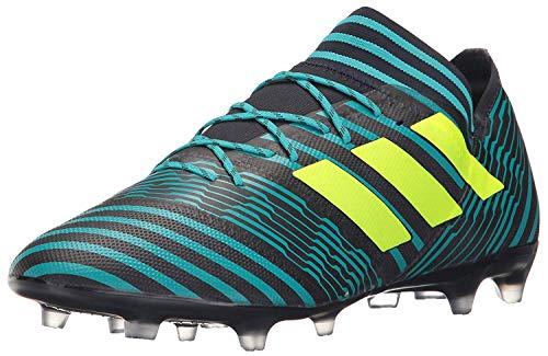 Zapatillas de fútbol Adidas Nemeziz 17.2 Fg para hombre, azul (Legend Ink/Solar Amarillo/Energy Azul), 39.5 EU