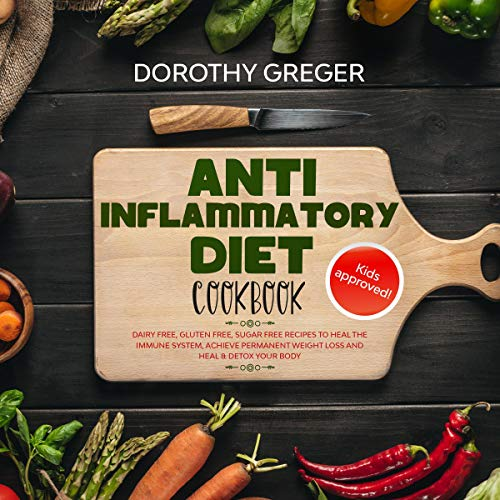 Anti- Inflammatory Diet Cookbook  By  cover art