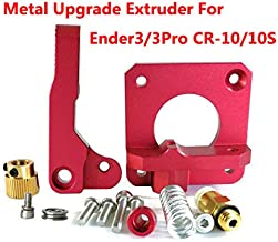 HICTOP Upgraded Replacement Aluminum MK8 Extruder Drive Feed for Creality 3D Printer Ender 3/3Pro CR-10, CR-10S, CR-10 S4, and CR-10 S5