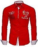 Kayhan Hombre Camisa Monaco RedXXL