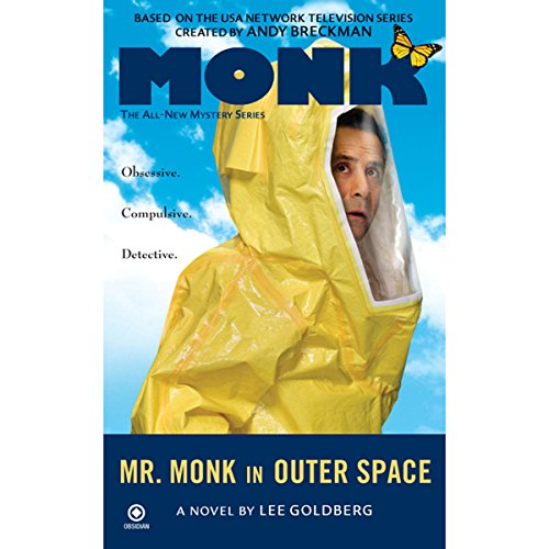 Mr. Monk in Outer Space audiobook cover art