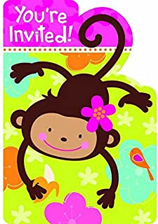 Invitations | Monkey Love Collection | Party Accessory