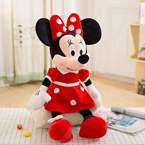 Klassieke Mickey Minnie Mouse Mickey Mouse knuffel Doll-Red Minnie Mouse_90cm