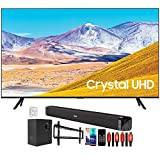 SAMSUNG UN43TU8000 43' 4K Ultra HD LED TV (2020) with Deco Gear Home Theater Bundle