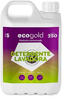 Ecogold Detergente ecológico para Lavadora 5L - Unidad de
