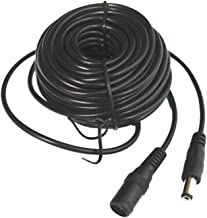 SMONET 2.1mm DC Power Male to Female Plug 30FT(10 Meters) Extension Cable Adapter for Home Security Camera Surveillance Sy...