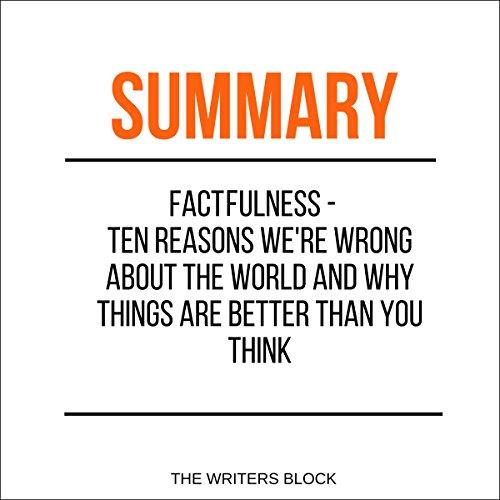 Summary: Factfulness audiobook cover art