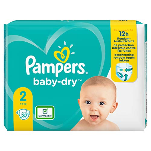 Pampers Baby Dry Gr.2 Mini 4-8kg Tragepack