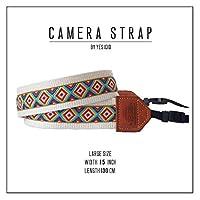 【即日発送】YES IDID カメラストラップ Camera Strap ラージ(太い・一眼レフ用) 5