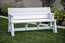 The Perfect Backyard Bench