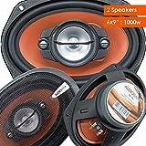 Best 6x9 Car Speakers - Pair of Audiobank 6x9 1000 Watt 4-Way Car Review