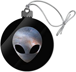GRAPHICS & MORE Alien Head in Space Acrylic Christmas Tree Holiday Ornament