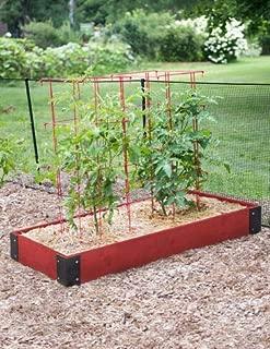 Prestained Raised Garden (46