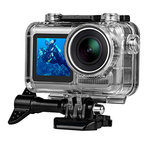 Waterproof Housing Case for DJI OSMO Action Camera 131FT/40M, Underwater Photography Diving Protective Housing Shell Case for OSMO Sports Cam