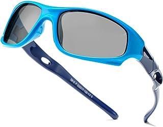Kids Sports Polarized Sunglasses - COASION 2 Pack...