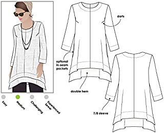 Style Arc Sewing Pattern - Daisy Designer Pant and Tunic Outfit (Sizes 04-16) - Click for Other Sizes Available