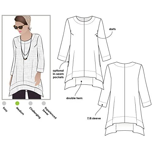 - Click for Other Sizes Available Kim Swing Top Sizes 18-30 Style Arc Sewing Pattern