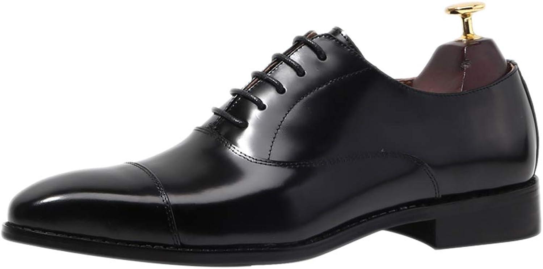 Herren Handmade Oxford schuhe Formale Schule Mode Komfort Lackleder hochwertige Schnürsenkel Schuhe
