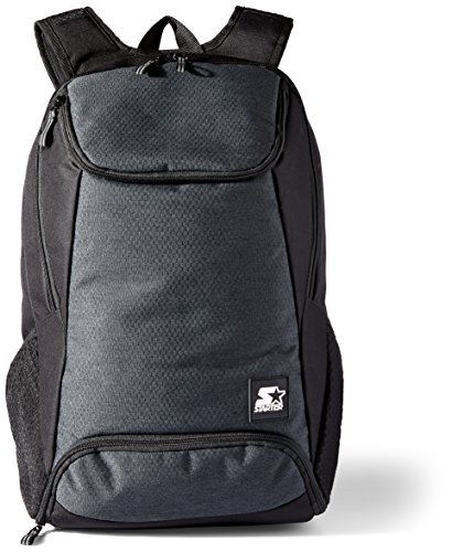 Starter Backpack with Laptop Sleeve and Shoe Pocket, Amazon Exclusive, Black, One Size
