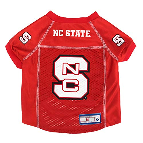 Littlearth NCAA NC State Wolfpack Pet Jersey, Medium