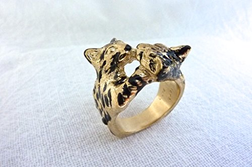 FAZIO Animal Jewelry Bengal Ring (Yellow-Gold)