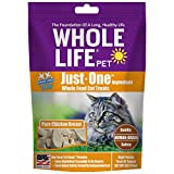 Whole Life Pet Products Healthy Cat Treats, Human-Grade Whole Chicken Breast, Protein Rich for Training, Picky Eaters, Digestion, Weight Control, Made in the USA, 4 Ounce (CH554)