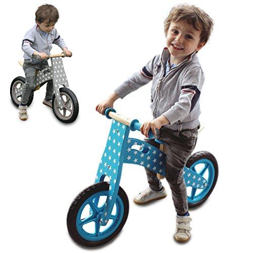 Monsieur Bébé  Draisienne en bois, vélo sans...