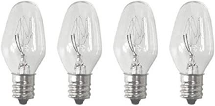 Sansai 4pk 7W/240V E14 Replacement Bulb Clear for Night Light/Lamps