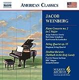 Weinberg: Piano Concerto No. 2 / String Quartet Op. 55 / Shabbat Ba'Aretz