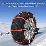 KKmoon 20pcs Calze da Neve Auto Mini Universale Tyres Chains per Auto / Suv...