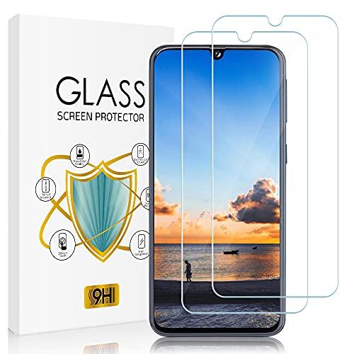Zinking Panzerglas Schutzfolie für Samsung Galaxy A40, [2 Stück] 9H Härte, HD Klar, Blasenfrei, Anti-Kratze Glas, Anti-Staub Panzerglasfolie, Displayschutzfolie für Samsung A40