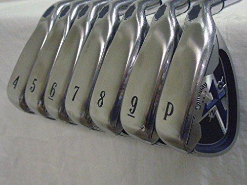 Product Image 1: Callaway X-20 Irons Set 4-PW (Steel Uniflex) X20 Oversize Golf Clubs