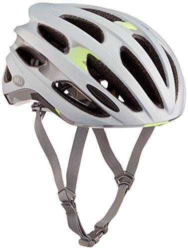 BELL Erwachsene Formula MIPS Fahrradhelm, Matte Silver/Deco, M