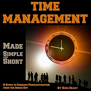 Time Management Made Simple and Short cover art