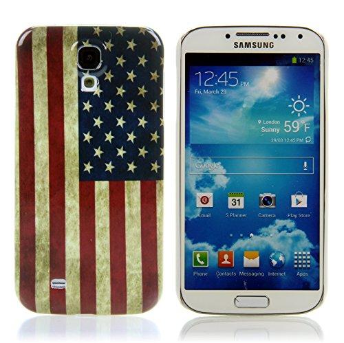 Handy Lux Schutz Hülle Etui Hard Case Cover Motiv für Motorola RAZR i XT890 - USA Flagge
