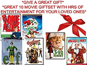 Ultimate Christmas Giftset 10-Film Collection - Home Alone 1,2,3,4 & 5 / Dr. Seuss' How the Grinch Stole Christmas / A Christmas Story 2/ Elf / Miracle on 34th Street / Jingle All The Way