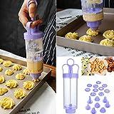 Moldes para hornear moldes para hacer galletas y hacer galletas, máquina de prensa, decoración de...