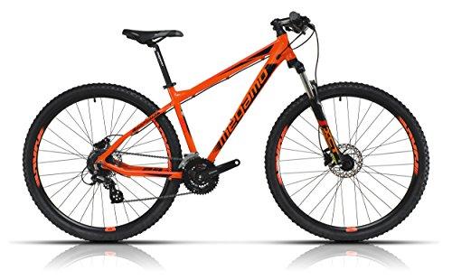 Megamo Natural 60 Bicicleta de Montaña, Hombre, Naranja, M