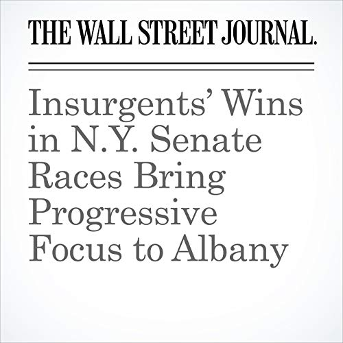 Insurgents' Wins in N.Y. Senate Races Bring Progressive Focus to Albany copertina
