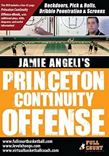 Princeton Continuity Offense With Jamie Angeli Basketball Coaching Training DVD