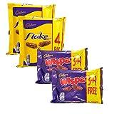 Cadbury Variety Selection   8 Bars of Cadbury Flake & 8 Bars of Cadbury Wispa   16 Bars Total