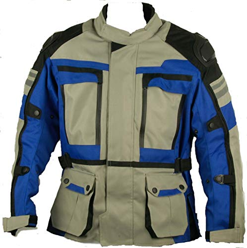 Maro Chaqueta moto,cordura proteccion en hombros codos y espalda forro polar...