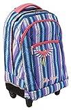 Clairefontaine 812725C - un Sac à dos à roulettes Little Marcel 30x17x51 cm,...