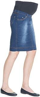 Best maternity jean skirt Reviews
