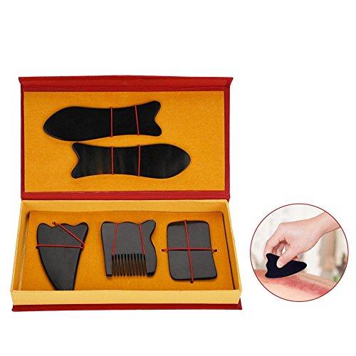 Professionelles -Gua Sha-Massage-Werkzeug, für Körper-Weichgewebe-Physiotherapie und zur Förderung der Durchblutung