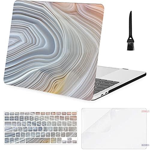 Carcasa rígida de plástico con Cubierta de Teclado para Macbook Pro Funda...