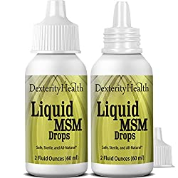 Top 3 Best MSM Eye Drops For Floaters - Organic Sulfur for Health