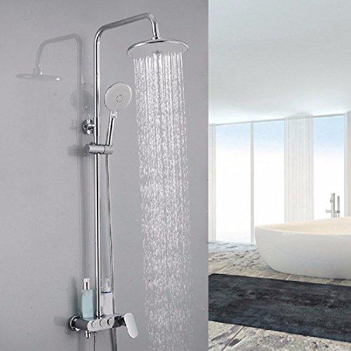 Lvsede Bad Wasserhahn Design Küchenarmatur Niederdruck Taste Selbstreinigende Dusche Heiß Und Kalt Bad Dusche Dusche Duschkopf Kupfer Mischventil G3521